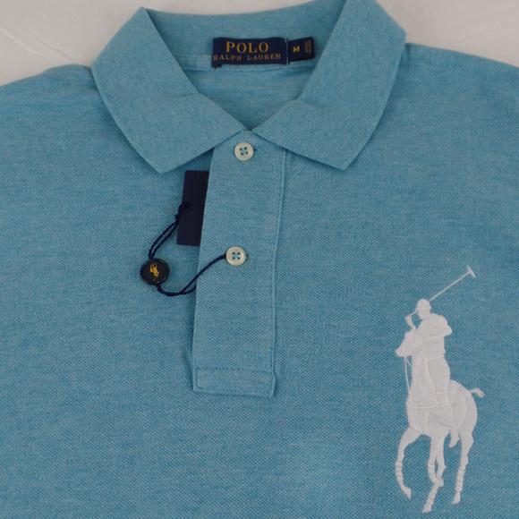 c5979165cb4 Polo Ralph Lauren Big Pony Shirt French Turquoise